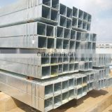 customized hot dipped galvanized square steel pipe