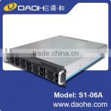 2U 8bay 550mm length for Surveillance Rackmount Chassis
