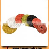 4 inch stone polishing pads diamond tools grinding granites                                                                                                         Supplier's Choice