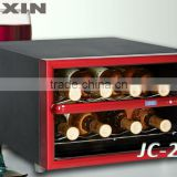 FUXIN:JC-23A.Thermoelectric Wine Cellar with 8 Bottles/Mini Fridge display/mini wine bottles wholesale ,