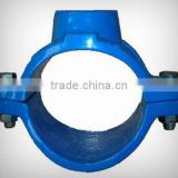 PVC/HDPE Pipe Fitting Saddle Clamp