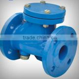 double flanged ball type check valve