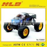 HBX 3318 1/10th SCALE FUEL POWERED MONSTER TRUCK,Nitro RC Truck