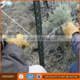 High quality iron fence post/used fence post for sale/t-post