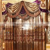 The bedroom windows Water soluble embroidery curtain fabric shade curtains bed room curtain and living room curtain
