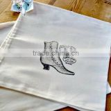 shoe cotton drawstring bag 2015
