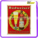 Cardboard Paper Pop Beer Advertising Standee for Budweiser or Other Beer Brands with Customized Designs