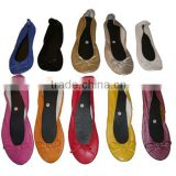 New styles Four Season Outdoor or indoor slipper Use roll up ballet flats dancers                                                                         Quality Choice