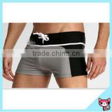 Hot sell swimming trunks black men bikini swimwear