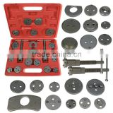 21 pcs Disc Brake Caliper Piston Pad Car Auto Wind Back Hand Tools Kit With Case