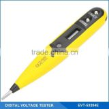 Screwdriver Digital Blue Backlit LCD Display VoltageTester Pen, Pocket Electrical Digital Voltage Tester Pen, 12-250V AC/DC