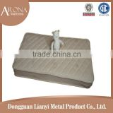 ventilate comfort environmental protection natural color cotton latex crib baby mattress