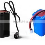 First CJ 7.4V/4000-5200mAh 18650 li ion/LiFePO4 rechargeable battery for head lamp, front light