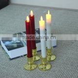 CHURCH Taper LED CANDLES With moving wick flame