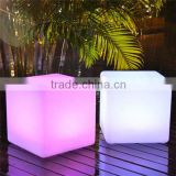 plastic led cube furniture chair led outdoor furniture                                                                         Quality Choice