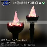 Hotsale LED torch fire flame light looks like real fire decoration the party