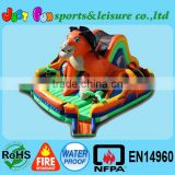 kids inflatable fun park, lion obstacle course, fun city inflatable