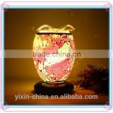 new style wholesale antique electric oil Warmer lamp small decorative oil lamp mosaic fragrance lamp YXNY