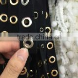 24# metal brass eyelet tape garment accessory eyelet