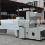 Semi-auto sleeve wrapping and Shrink packing machine line for botttles 500ml 1000ml 1500ml
