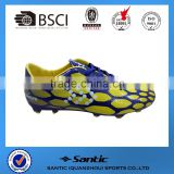 2016 Men outdoor sport shoes for football use, grade original quality soccer boots new style outdoor rugby SS3735