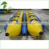 2015 hot sales inflatable flyfish banana boat, inflatable boat water game, customized colour and logo