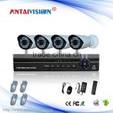 Security Surveillance system 4ch NVR KIT 720P 1.0mp wifi outdoor IP Camera P2P Home alarm video push CCTV