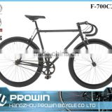 china bicycle manufacturer 700c fixed gear bike/single gear bike with fixed gear frame (PW-F700C320)