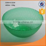 high quality colored glass sugar bowl fruit bowls for sale