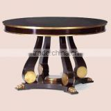 Wooden coffee table use for hotel lobby furniture IDM-CT005