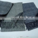 WOOL WOVEN SCARF