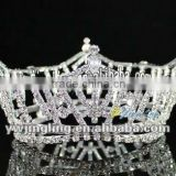 crystsal full round beauty pageant queen crowns