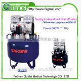 GuMei dental air compressor Silent Oil Free Air Compressor Silent And Oil Free Air Compressor Low Noise Oil Free Portable Oill
