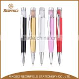 Professional mould design crystal pen with touch founction,Crystal pen with laser point,metal ball pen