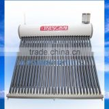 300L Compact Copper Coil Pre-heated Vacuum Tube Solar Water Heater Water Loading Automatically