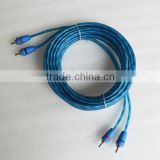 Made in China car audio cables for rca with cheap price rca car audio cable