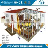 New Zeland AS Prefab Mobile Light steel structure durable villa                                                                         Quality Choice