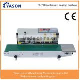 Plastic Bags/Film Sealing Machine , Horizontal Type Continuous Band Sealer With Date Printer                                                                         Quality Choice