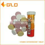 Hot sell food supplement 1000mg/2000mg Vitamin C Effervescent Tablet