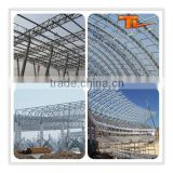 Shopping Mall Exhibition Center Steel Tube Truss Structure