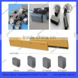 ISO manufacturer customized cemented tungsten carbide snowplow inserts,blade for snow plow