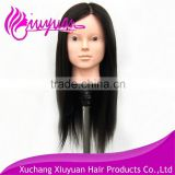 Wholesale cheap training mannequin head,plastic mannequin head,100% synthetic hair mannequin head