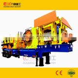 glass crushing plant with trailer, glass crusher plant, glass recycle trailer crusher plant