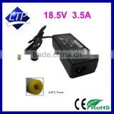 Factory direct 65W power supply 18.5V 3.5A 4.8*1.7mm laptop adapter for Benq S72G S73EG S73E P550 notebook charger