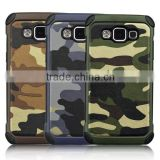 2015 new arrival fashion manufature camouflage smart phone cases for Galaxy A5