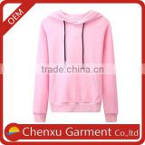 oversize pink hoodie for girls plain custom hoodies hand embroidered shirts hoodie gym women two tone terry cloth hoodie