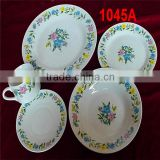 Linyi Factory china crockery tableaware ceramic porcelain dinner set 20pieces