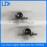New products wireless Led Door Courtesy Light With Car Logo 3d shadow light for Honda