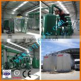 ZSA used black waste motorcycle oil purifier/ recycling/ refining/ processing/ filtration machine to base oil