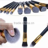eBay hot sale, No brand wholesale makeup brushes, maquiagem synthetic hair wood hand 10pcs makeup brush set